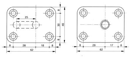 Supporti esterni in bronzo per filtri for Pompe per laghetti esterni